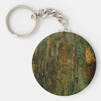 Grutas de la Estrella Cave Formation PICT0145A Basic Round Button Keychain