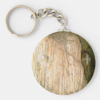 Grutas de la Estrella Cave Formation PICT0158A Basic Round Button Keychain