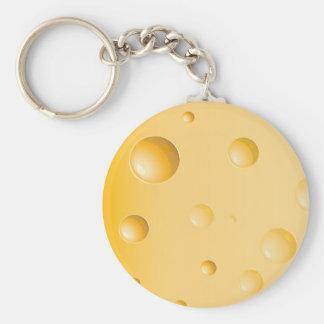 Gruyere Cheese Keychain