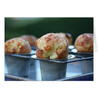 Gruyere popovers greeting card