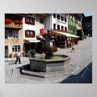 Gruyeres in Switzerland Poster