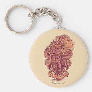 GRYFFINDOR™ Crest Basic Round Button Keychain