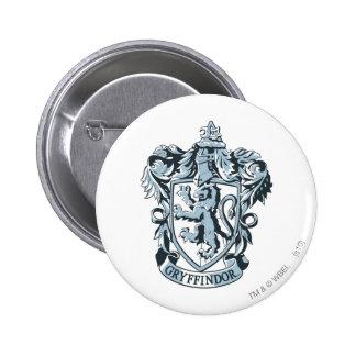 Gryffindor crest blue 2 inch round button
