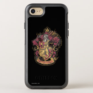 Gryffindor Crest - Destroyed OtterBox Symmetry iPhone 7 Case