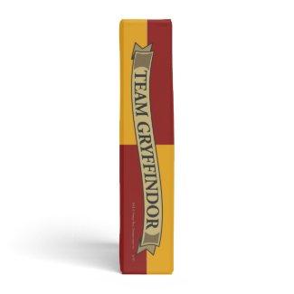 Gryffindor Crest Gold and Red binder