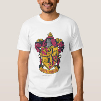 Gryffindor Crest Gold and Red T Shirt
