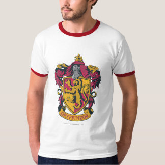 Gryffindor Crest Gold and Red Tee Shirt