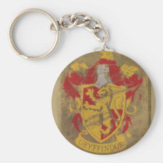 Gryffindor Crest HPE6 Basic Round Button Keychain