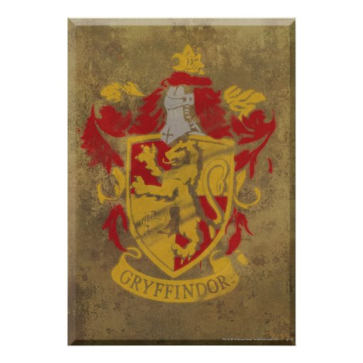 Gryffindor Crest HPE6 Posters