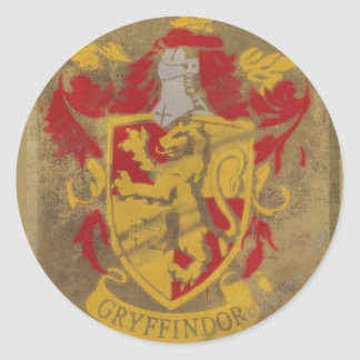 Gryffindor Crest HPE6 Round Sticker