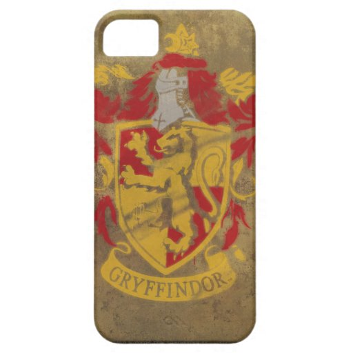 Gryffindor Crest Painted iPhone 5 Cover