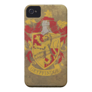 Gryffindor Crest Painted iPhone 4 Case
