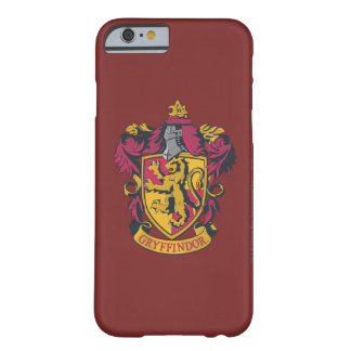 Gryffindor crest red and gold barely there iPhone 6 case