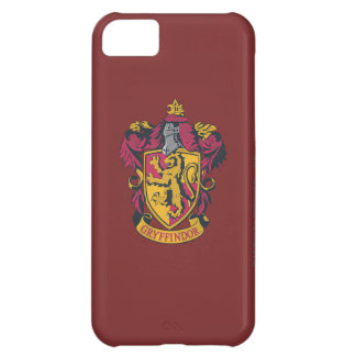 Gryffindor crest red and gold case for iPhone 5C