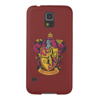 Gryffindor crest red and gold galaxy s5 covers