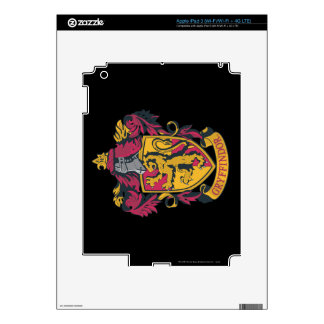 Gryffindor crest red and gold skin for iPad 3