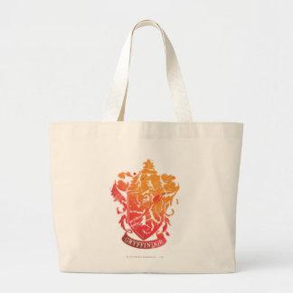 Gryffindor Crest - Splattered Large Tote Bag