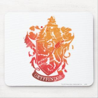 Gryffindor Crest - Splattered Mouse Pad