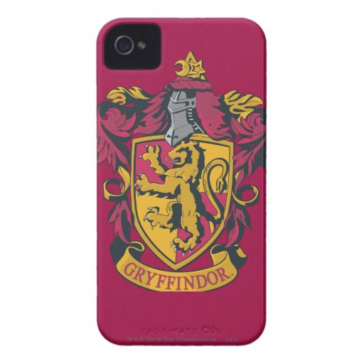 Gryffindor House Crest iPhone 4 Cases