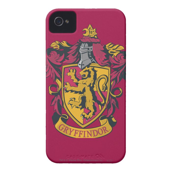 Gryffindor House Crest Case-Mate iPhone 4 Case