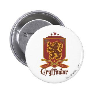 Gryffindor Quidditch Badge 2 Inch Round Button