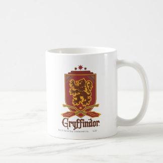 Gryffindor Quidditch Badge Classic White Coffee Mug
