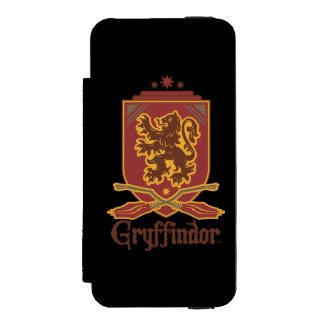 Gryffindor Quidditch Badge iPhone SE/5/5s Wallet Case