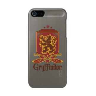 Gryffindor Quidditch Badge Metallic Phone Case For iPhone SE/5/5s