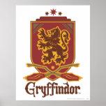 Gryffindor Quidditch Badge Print
