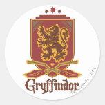 Gryffindor Quidditch Badge Stickers