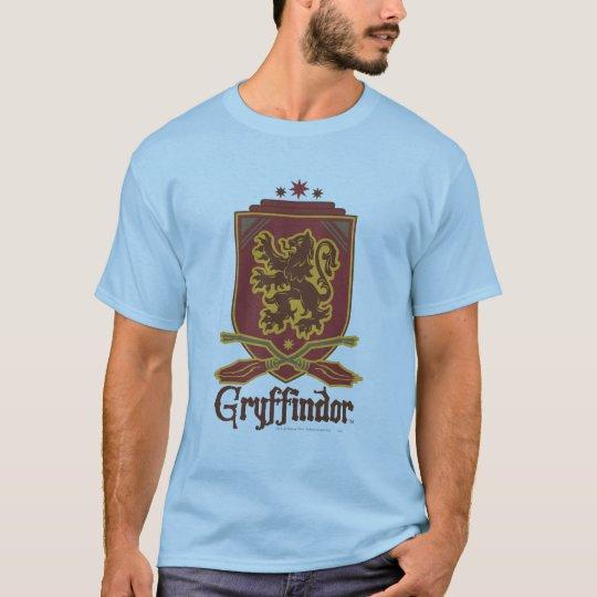 Gryffindor Quidditch Badge T-Shirt