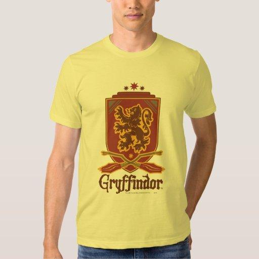 Gryffindor Quidditch Badge Tee Shirt