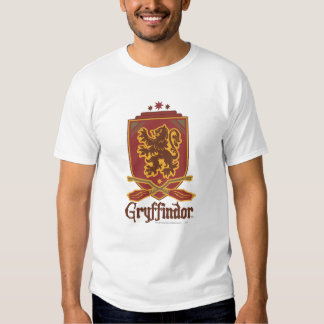 Gryffindor Quidditch Badge Tshirts