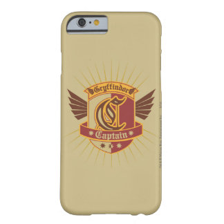 Gryffindor Quidditch Captain Emblem Barely There iPhone 6 Case