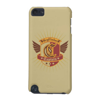 Gryffindor Quidditch Captain Emblem iPod Touch 5G Covers