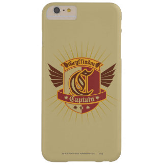 Gryffindor Quidditch Captain Emblem Barely There iPhone 6 Plus Case