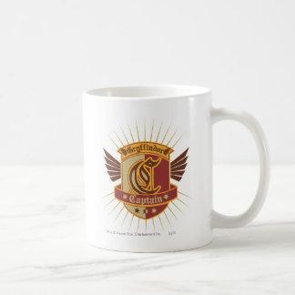 Gryffindor Quidditch Captain Emblem Coffee Mug