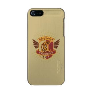 Gryffindor Quidditch Captain Emblem Incipio Feather® Shine iPhone 5 Case
