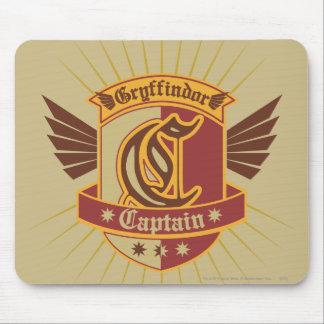 Gryffindor Quidditch Captain Emblem Mouse Pad