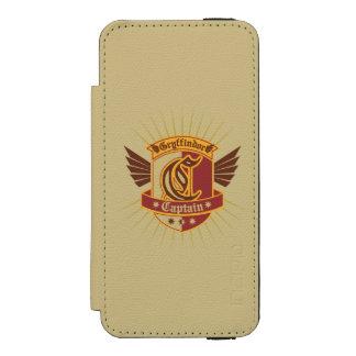 Gryffindor Quidditch Captain Emblem Incipio Watson™ iPhone 5 Wallet Case