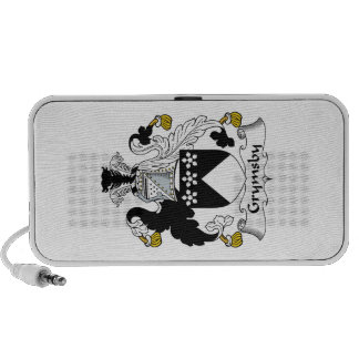 Grymsby Family Crest Notebook Speaker