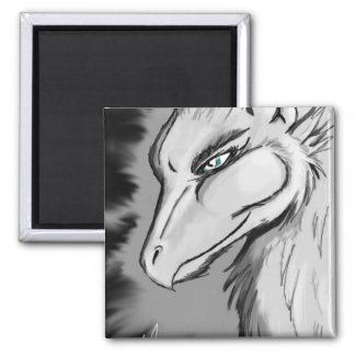 Gryphon 2 Inch Square Magnet