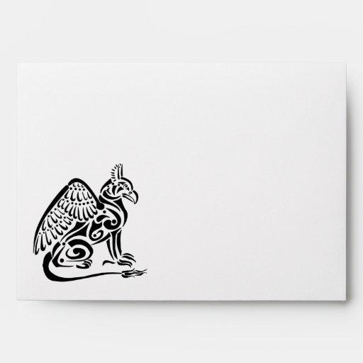 Gryphon A7 Greeting Card Envelope