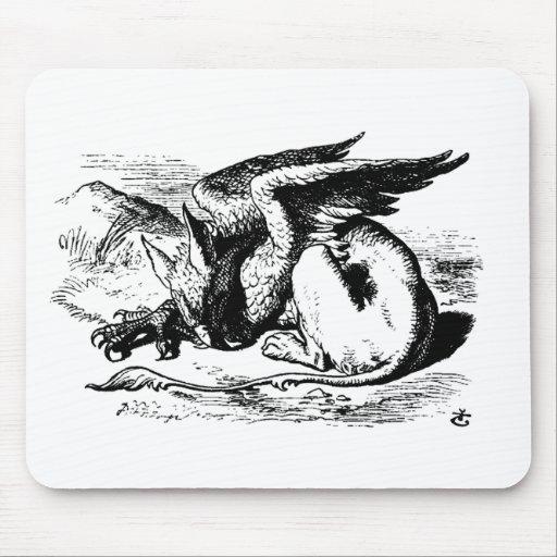 gryphon-art-1 mousepads