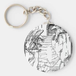 gryphon-art-4 keychain