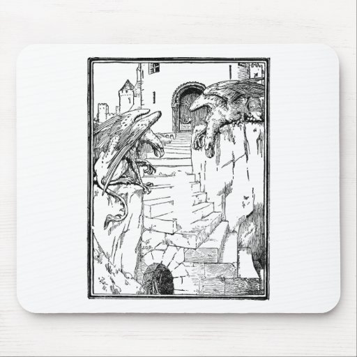 gryphon-art-4 mousepads