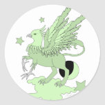 Gryphon Avocado Green Stickers
