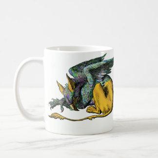 Gryphon - azul: taza
