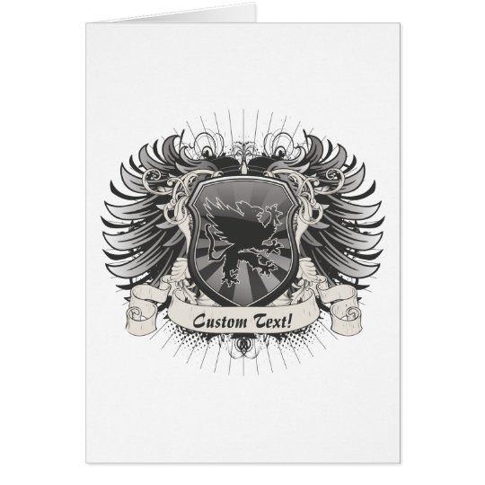 Gryphon Crest Card