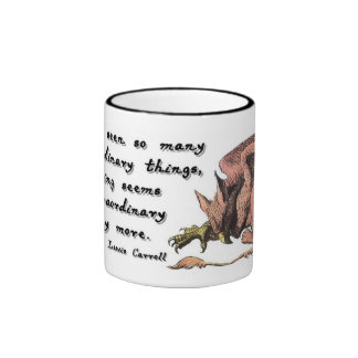Gryphon Extraordinary Ringer Coffee Mug